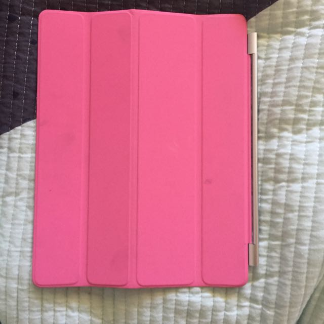 Pink Clip On Ipad Cover