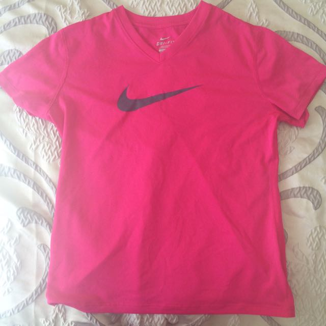 Pink Nike Dry Fit Top