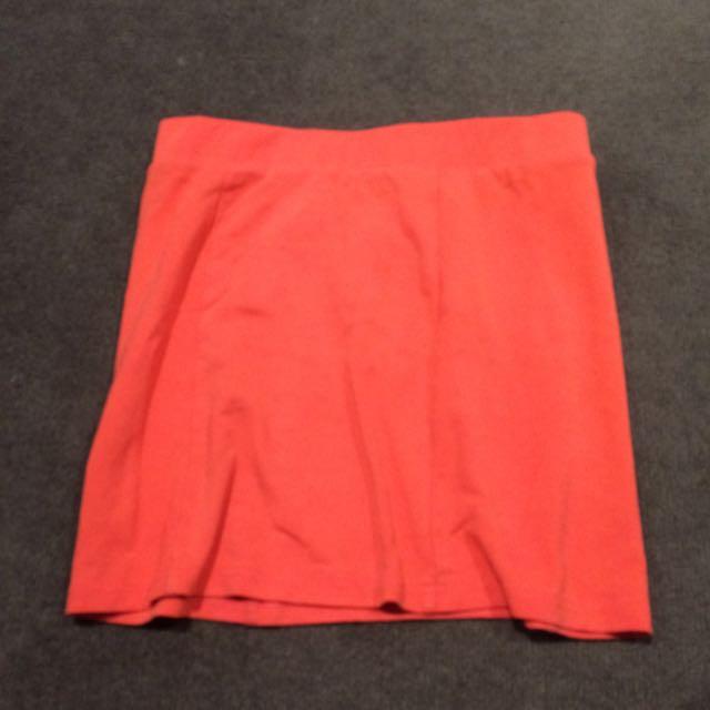 Pink/Orange skirt