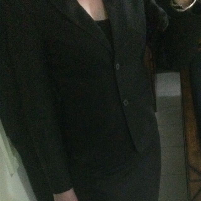 Pinstriped 3 Piece Suit