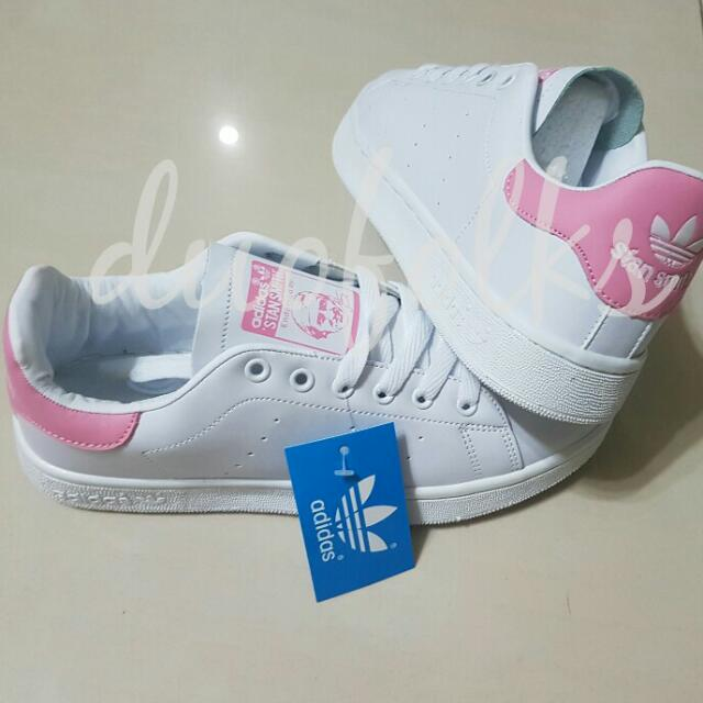 Célèbre Adidas Stan Smith Sneakers Baby Pink, Women's Fashion on Carousell ND52