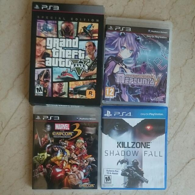 PS3 Preloved/Preowned Games