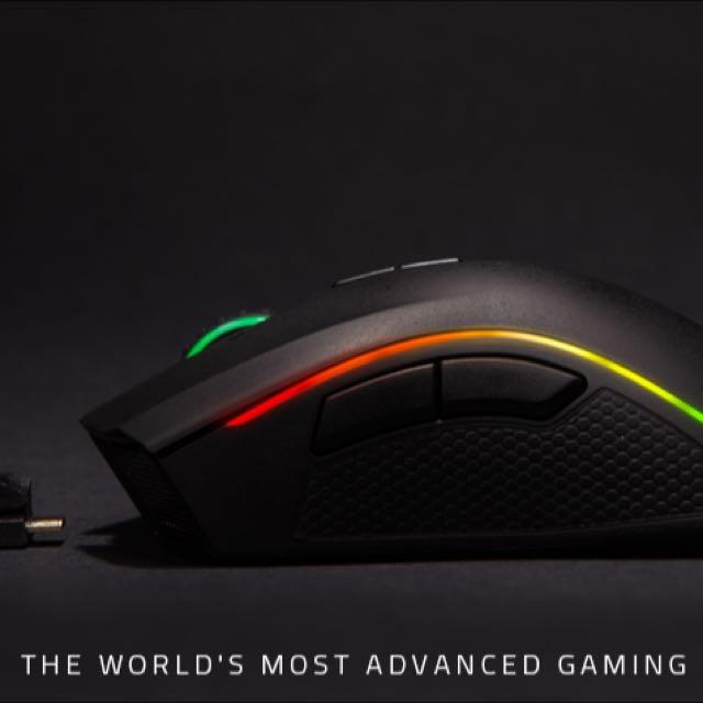 Razer Mamba - Chroma Ergonomic Gaming Mouse - Use Wired or