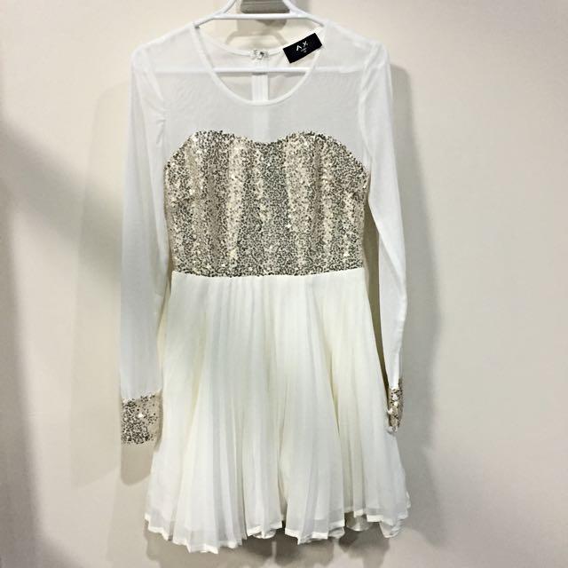 Sequin Dress AX Paris Size 8