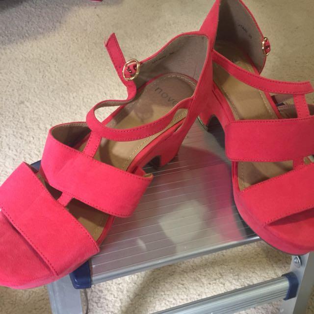 Shoes novo Orange