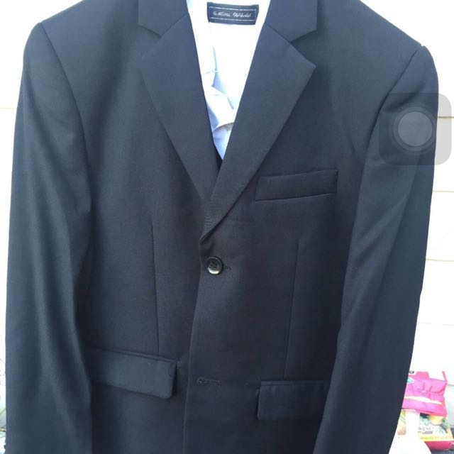 Size 10 And 12 Boys Suits