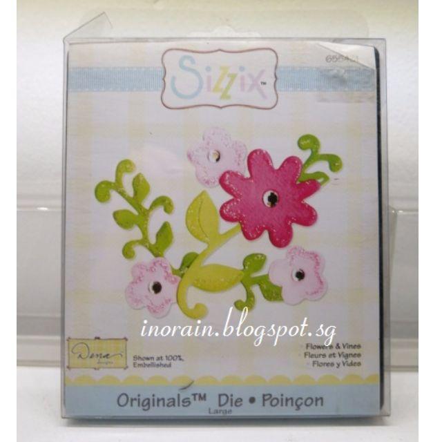 Sizzix Originals Die - Flowers & Vines #655431