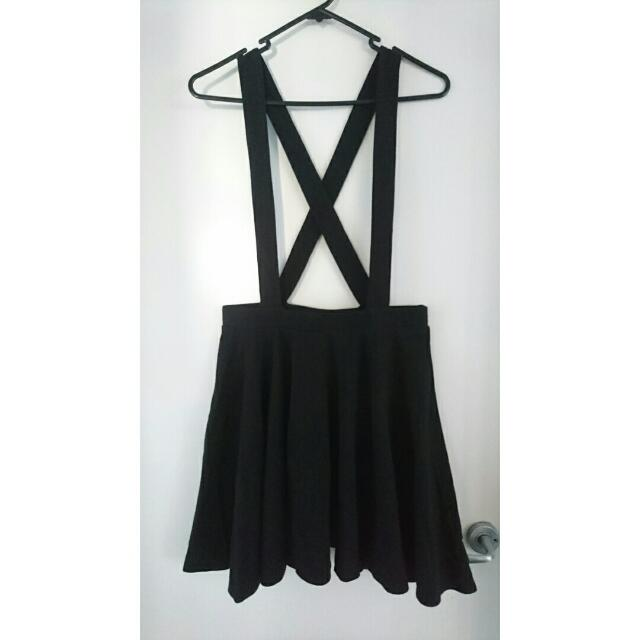 Supre Skirt with Suspenders