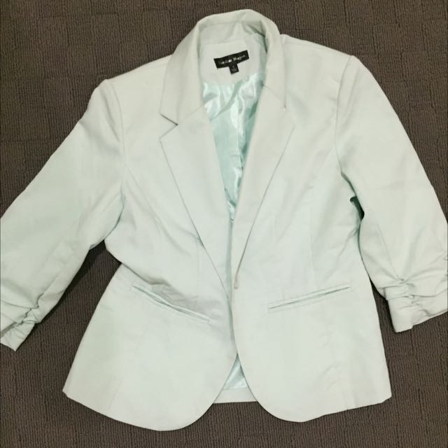 Sz 8 Mint Green Blazer