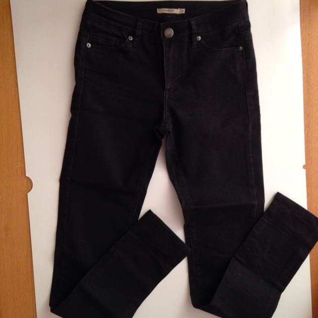 Thurley Black Jeans Size 8