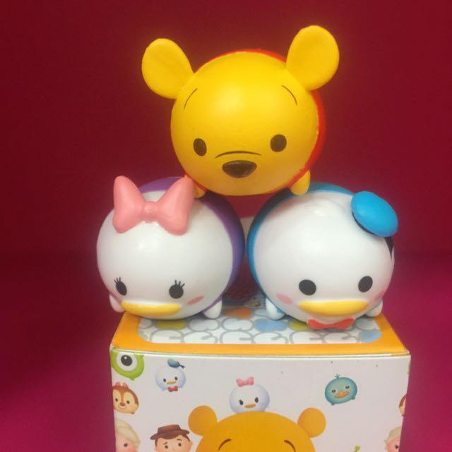 全家Tsum Tsum 玩偶磁鐵