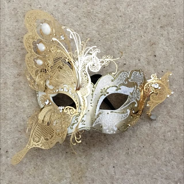 Venetian Mask. Genuine