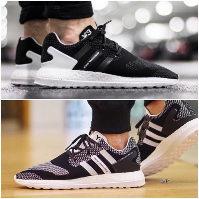 0bb5077e4e24 Y-3 Adidas Pure Boost ZG Knit
