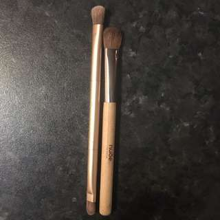 Urbane Decay And Nude By Nature Brushes