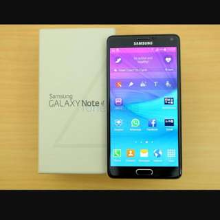 Almost Brand New Samsung Galaxt Note 4