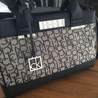 Calvin Klein Sadie City Carryall Satchel Bag