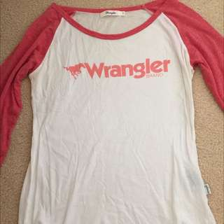 Wrangler Top Size Small