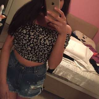 Crop Top Purchased From Glue