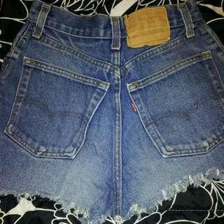 Vintage Levi High Waisted Shorts
