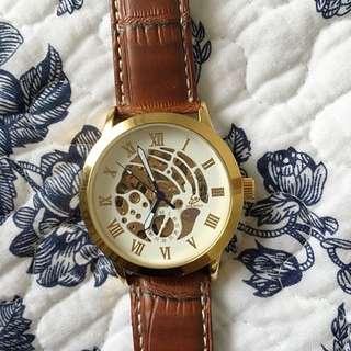 Lord Timepieces Men's Skeleton Watch