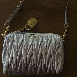 🌟PRICE REDUCED!!🌟MIU MIU Mughetto Pink Matelass' Lux Charm Small Shoulder Bag