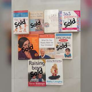 Preloved Parenting Books (Updated)