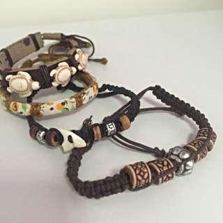 Surfer bracelets/anklets