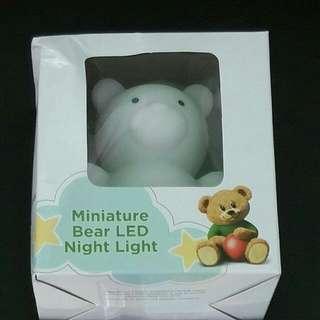 New Similac Miniature Bear Led Night Light