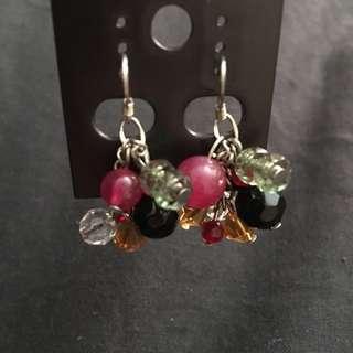 Handmade Multicolor Earrings