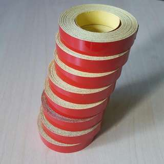 Red Reflective Tape, 500cm