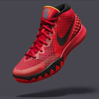 [誠收,Wanted Not Sale]Nike Kyrie 1 Deceptive red紅黑配色(優先)Or USA美國獨立配色