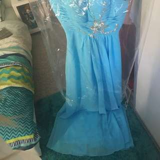 Skye Blue Formal Dress