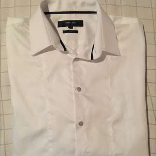 Politix White Formal Shirt
