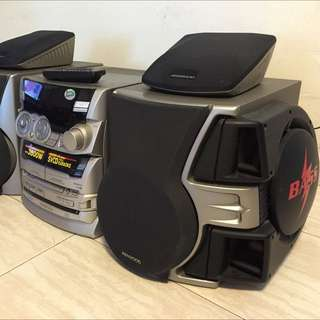 RESERVED. Mini Compo with power woofer.