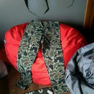 Addict Camo Cargo Pants. Authentic!