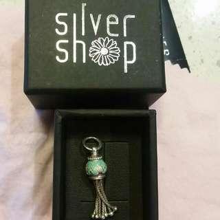 Silver Shop Pendant