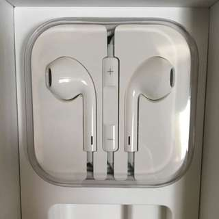 全新APPLE EARPODS耳機