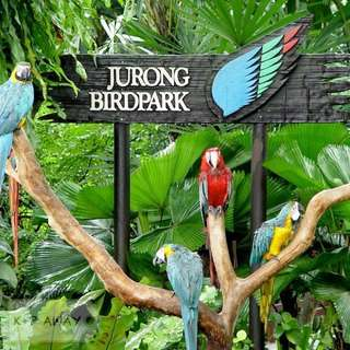 Fast sale (85% off) 2 tickets to Jurong Bird Park with tram