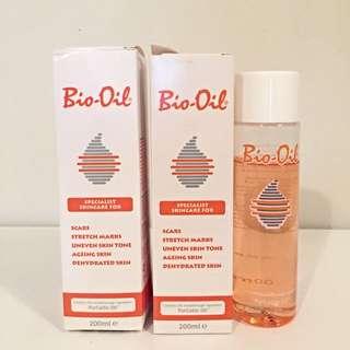 3 x 200ml Bio-Oil (2 x brand new in box)