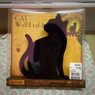 日本帶回 貓咪造型夜燈
