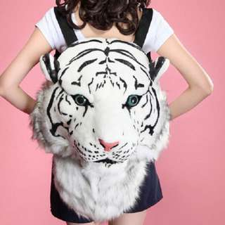 Cool 3D Tiger Head Backpack