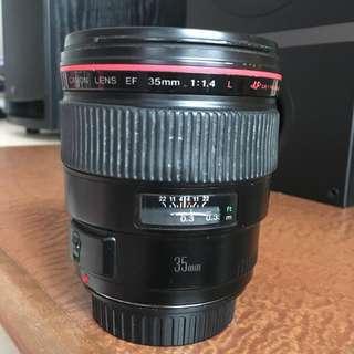 Canon EF 35 1.4 L MkI