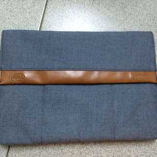surface筆電平板包,12寸(含)以下可用,全新品,僅拆開拍照,強力保護,丹寧包