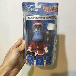 super rockin 阿拉丁  精靈聖誕版 付油燈 迪士尼