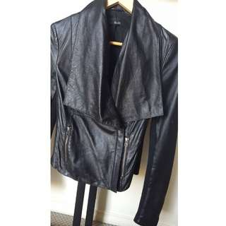 Size 8 - Bardot Leather Jacket