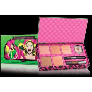 Benefit Real Cheeky Party Holiday Blush Kit - Limited Edition