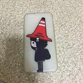 I Phone6皮諾丘李鐘碩蠶絲軟殼
