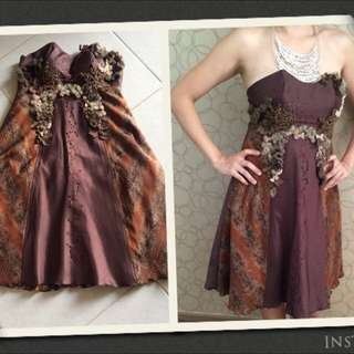 Sophisticated Batik Gown