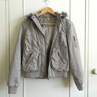 Grey Winter Jacket