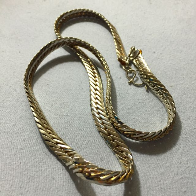 18k Gold Necklace (Offers)